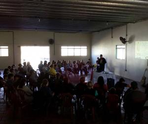 Retiro com os crismandos aconteceu em Manoel Viana