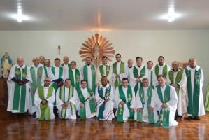 Padres da Diocese participaram do Retiro anual em Vale Vêneto