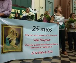 Movimento da Mãe Peregrina festeja 25 anos.