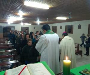 Visita Pastoral de Dom José Mário na Paróquia São João Batista