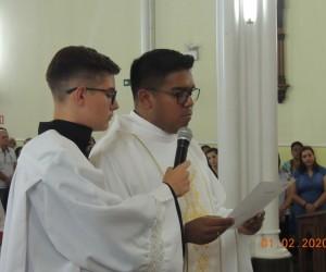 Posse do novo pároco em Alegrete