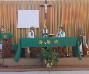 Posse do padre Leandro