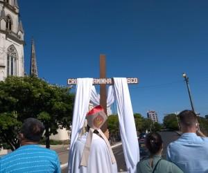 A cidade de Uruguaiana foi Consagra a Nossa Senhora Conquistadora no Dia do Trabalhador