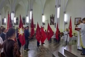 Missão com as Bandeiras do Divino