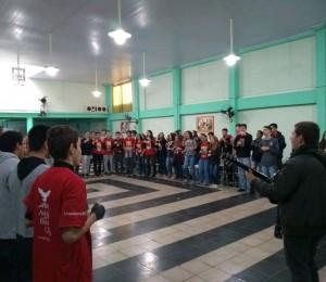 Serviço de Animação Vocacional visita a Paróquia Sant'Ana - Catedral