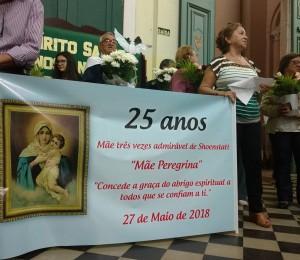 Movimento da Mãe Peregrina festejou 25 anos em Uruguaiana