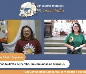 31º Encontro Diocesano de Comunidades aconteceu pela primeira vez no módulo totalmente on-line