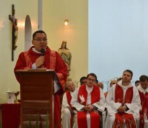 Seminarista Diogo Dias é o mais novo Diácono da Diocese