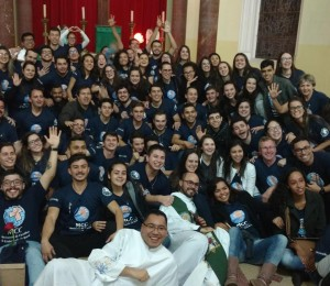 Missa aberta para a comunidade marcou o 12º Cursilho Misto de Jovens da diocese