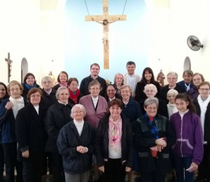 Religiosos da Diocese se reúnem em São Francisco de Assis