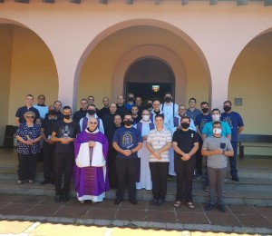 Seminaristas da Diocese participam de Retiro Anual