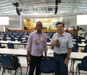 Padres Artur Friggi e Leandro Francisco participam do 17º Encontro Nacional de Presbíteros