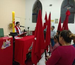 Paróquia São João Batista em clima de Novena de Pentecostes