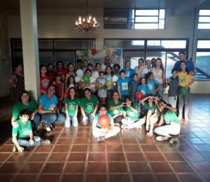 Infância e Adolescência Missionária de São Borja começam as atividades de 2020 com Encontrão