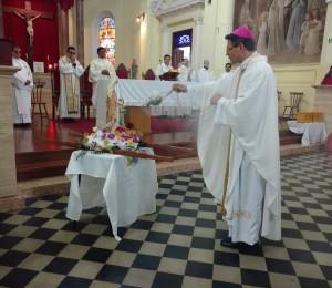 A Catedral da Diocese celebrou a sua Padroeira