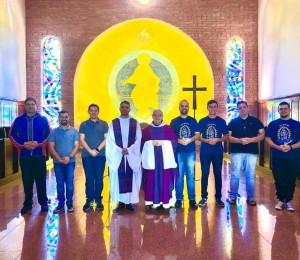 Seminaristas reiniciam suas atividades com Retiro Anual no Mosteiro da cidade de Santa Rosa