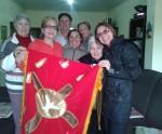 Novena em preparação para a Festa de Pentecostes em Quaraí