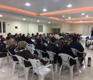 Dom José Mário realizou visita pastoral à Paróquia de Alegrete