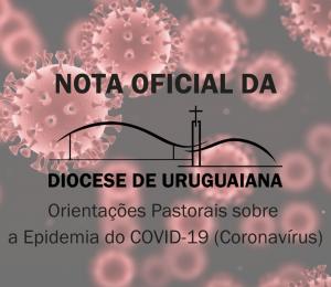 Orientações Pastorais sobre a Epidemia do COVID-19 - Coronavírus