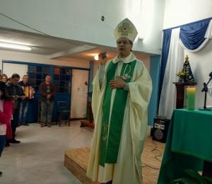 """""""Fé é experiência, é amor é afeto"""" afirmou Dom José Mário em visita pastoral a Paróquia São João Batista"""